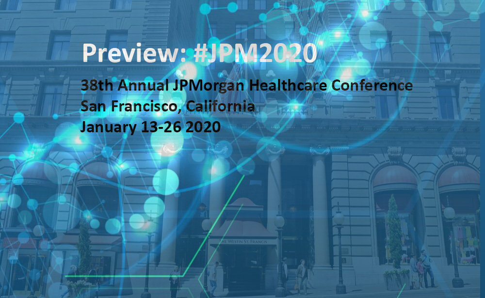 Image of JP Morgan Healthcare Conference 2020 banner